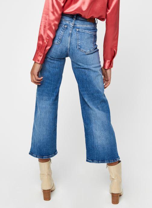 Kleding Pepe jeans Lexa Sky High Blauw model
