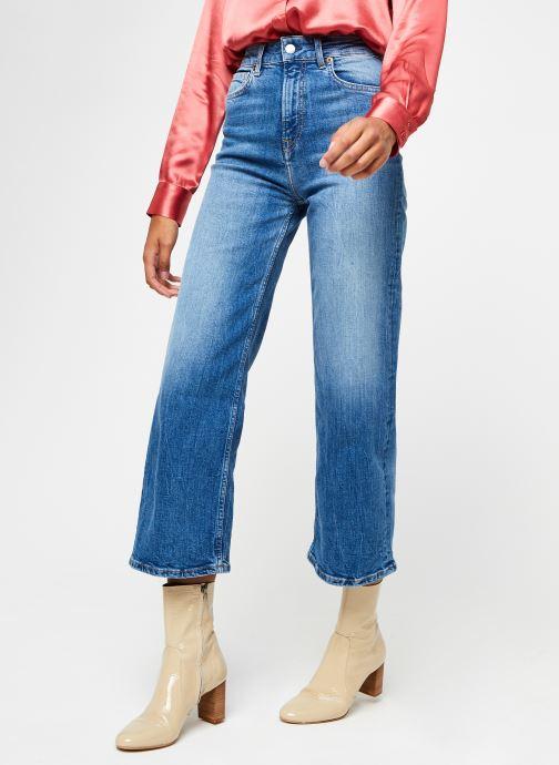 Kleding Pepe jeans Lexa Sky High Blauw detail