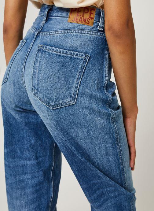 Kleding Pepe jeans Rachel Blauw voorkant