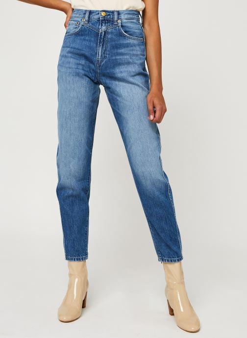Kleding Pepe jeans Rachel Blauw detail