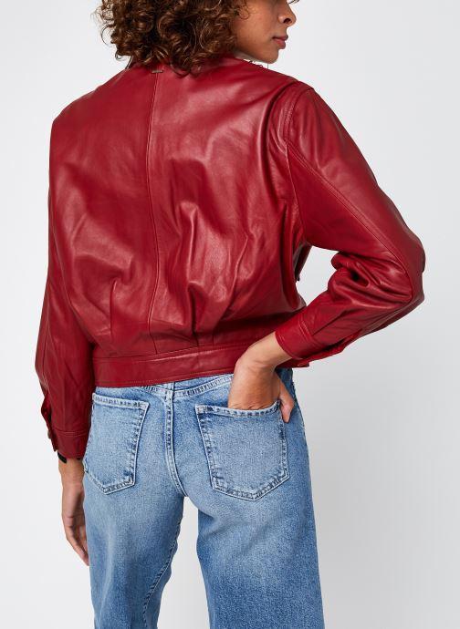 Kleding Pepe jeans Lena Rood model