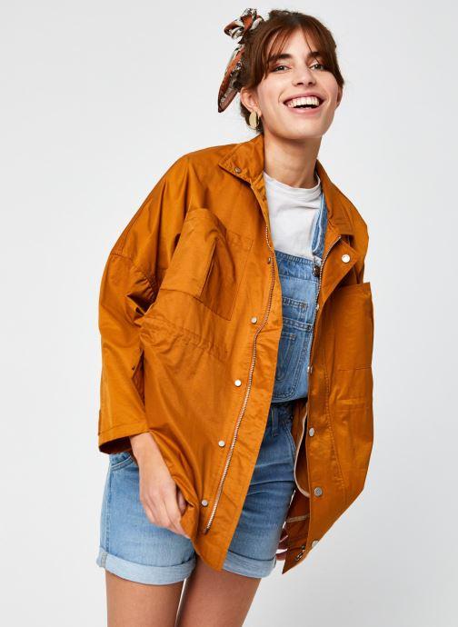 Kleding Pepe jeans Katie Bruin detail