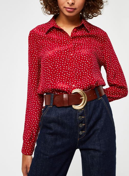 Kleding Pepe jeans Rita Rood detail