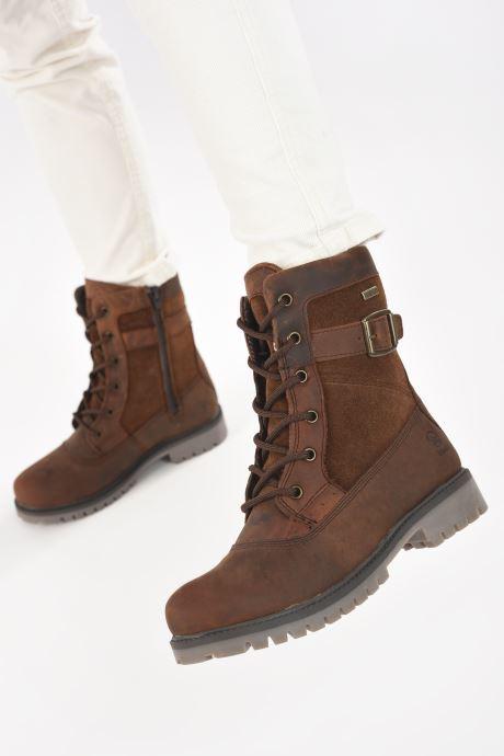 Stiefeletten & Boots Kamik Rogue Mid braun ansicht von unten / tasche getragen