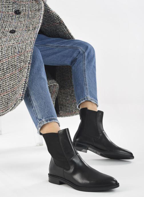 Bottines et boots Vagabond Shoemakers FRANCES 5006-001 Noir vue bas / vue portée sac