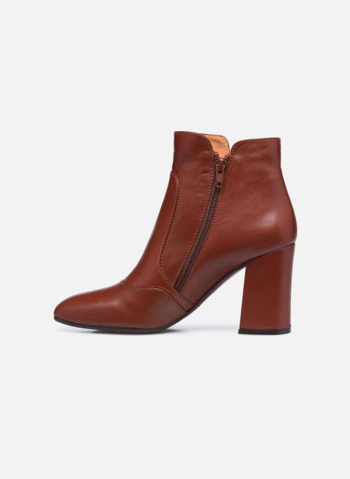 Bottines et boots Chie Mihara RACEL Bordeaux vue face