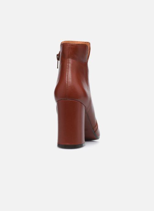 Bottines et boots Chie Mihara RACEL Bordeaux vue droite