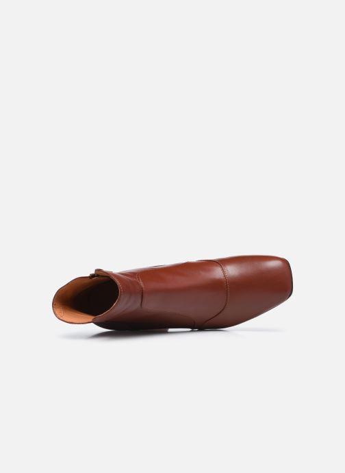 Bottines et boots Chie Mihara RACEL Bordeaux vue gauche