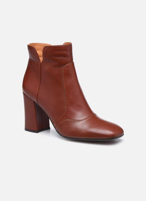 Bottines et boots Chie Mihara RACEL Bordeaux vue détail/paire