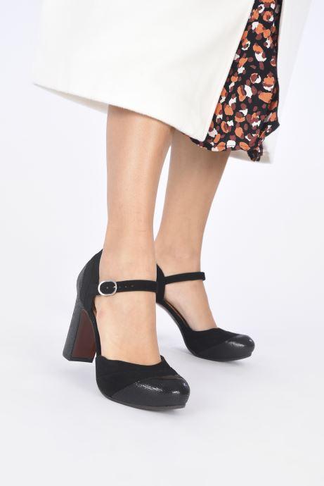 Zapatos de tacón Chie Mihara DELIA Negro vista de abajo