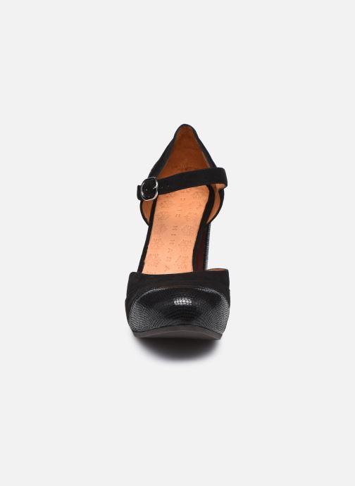 Zapatos de tacón Chie Mihara DELIA Negro vista del modelo