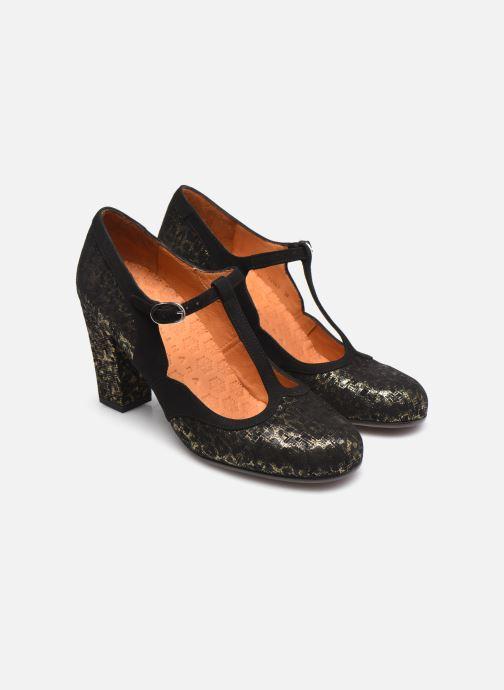 Zapatos de tacón Chie Mihara ULISE Plateado vista 3/4