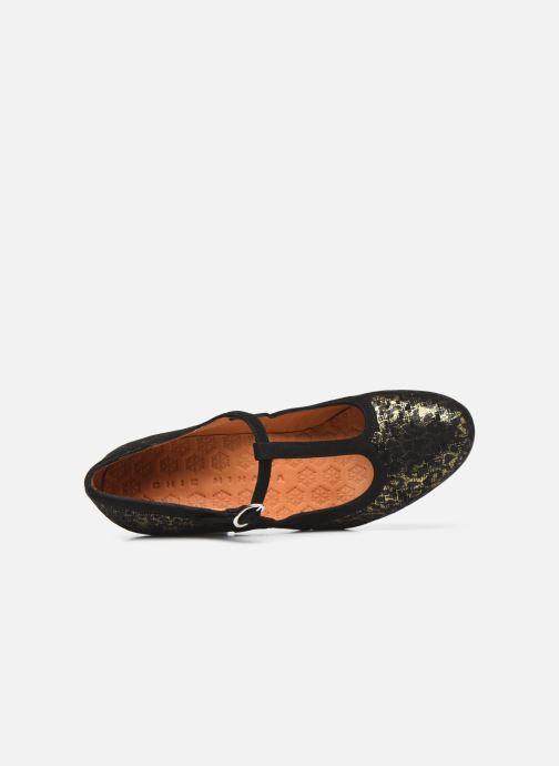 Zapatos de tacón Chie Mihara ULISE Plateado vista lateral izquierda