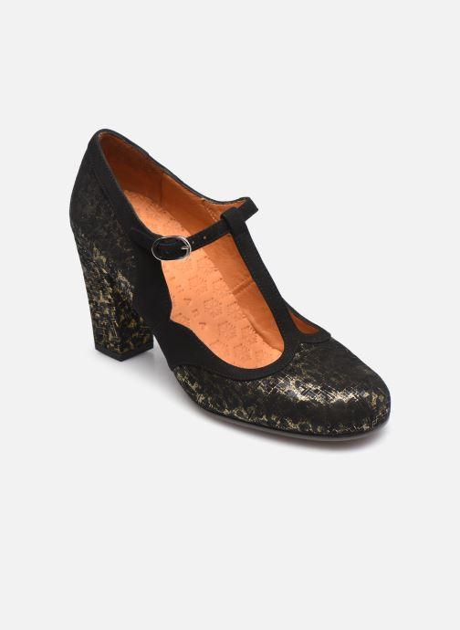 Zapatos de tacón Chie Mihara ULISE Plateado vista de detalle / par