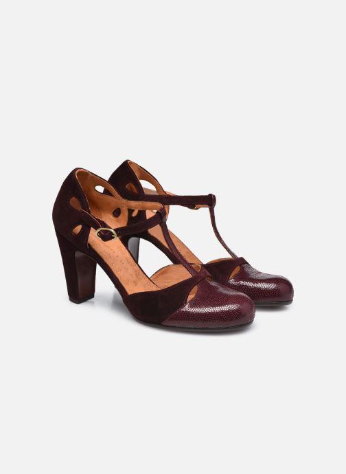 Zapatos de tacón Chie Mihara KUNA37 Vino vista 3/4