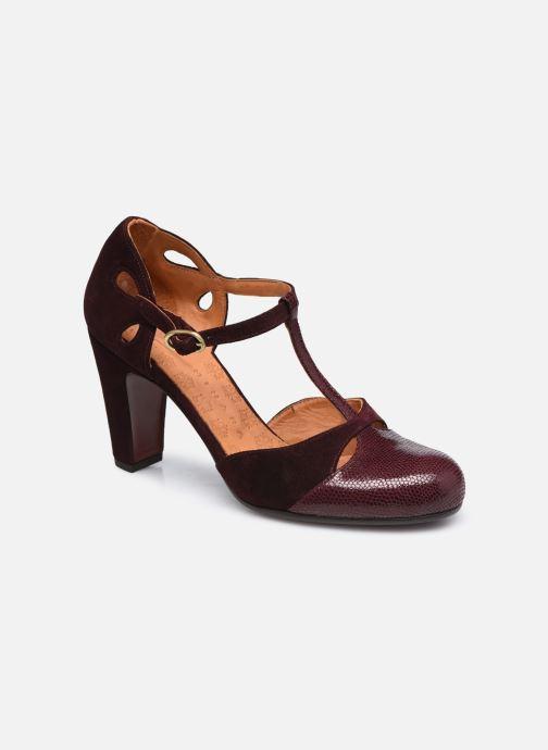 Zapatos de tacón Chie Mihara KUNA37 Vino vista de detalle / par
