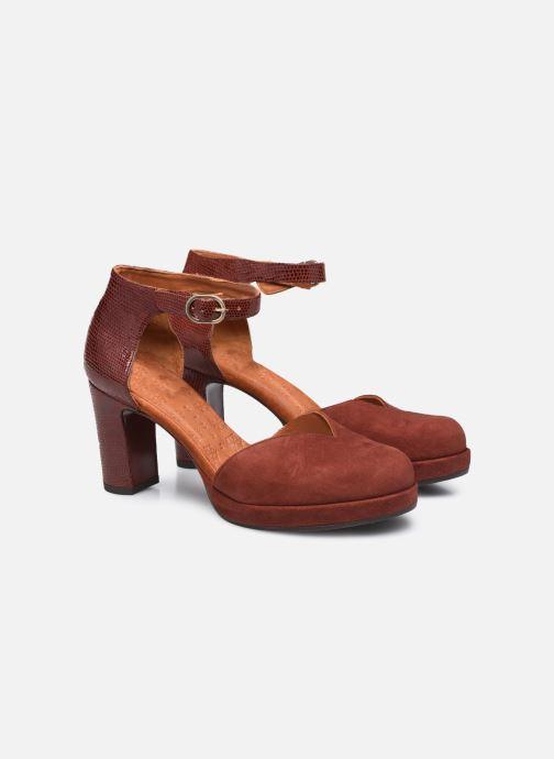 Zapatos de tacón Chie Mihara JO-MAHO37 Marrón vista 3/4