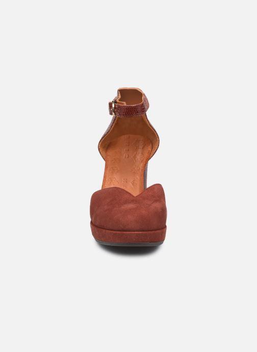 Zapatos de tacón Chie Mihara JO-MAHO37 Marrón vista del modelo