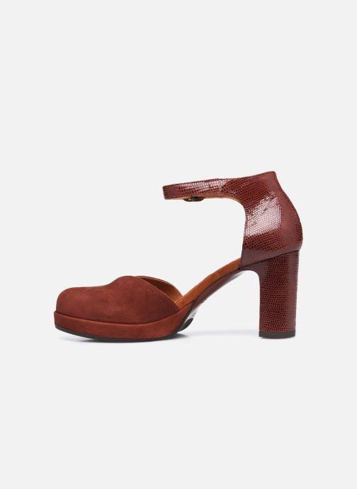 Zapatos de tacón Chie Mihara JO-MAHO37 Marrón vista de frente