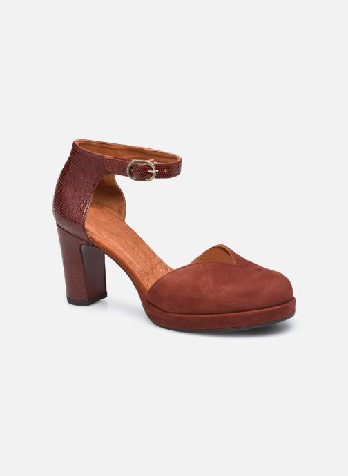 Zapatos de tacón Chie Mihara JO-MAHO37 Marrón vista de detalle / par