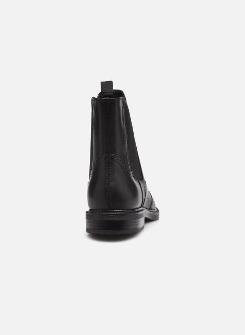 Boots en enkellaarsjes Vagabond Shoemakers AMINA 5003 Zwart rechts
