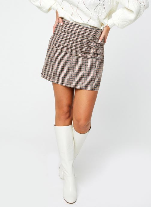 Vêtements Garance JUPE FABIO Multicolore vue détail/paire