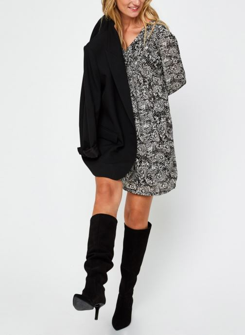 Vêtements Garance ROBE FARED Noir vue bas / vue portée sac