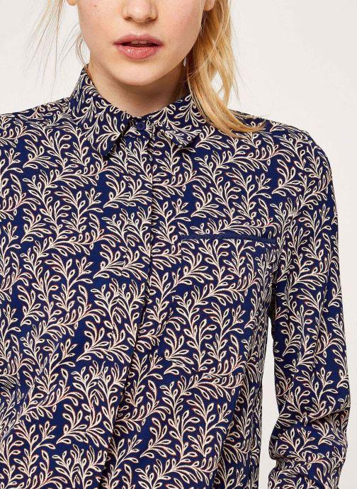 Vêtements Garance CHEMISE FROZEN Bleu vue face