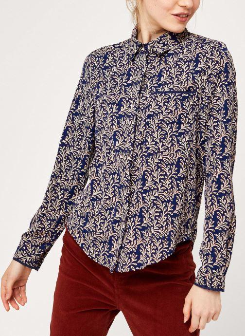 Vêtements Garance CHEMISE FROZEN Bleu vue droite