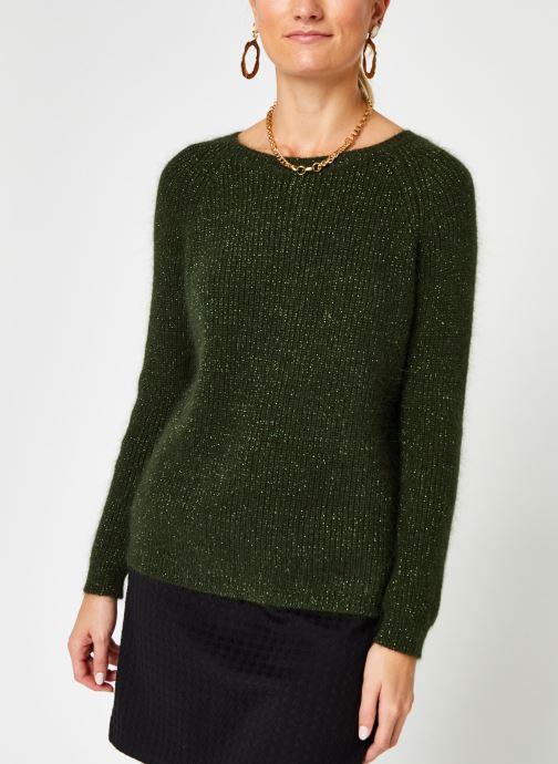 Vêtements Garance PULL FILDOR Vert vue droite