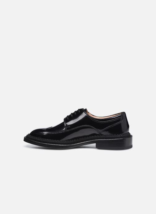 Chaussures à lacets Free Lance CHRIS DERBY Noir vue face