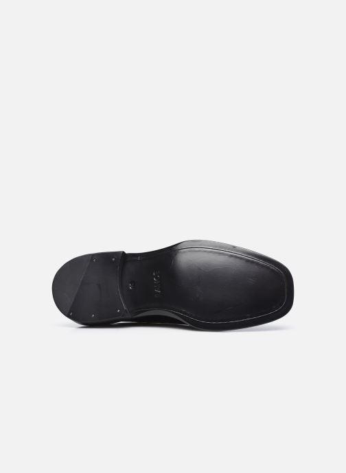 Chaussures à lacets Free Lance CHRIS DERBY Noir vue haut