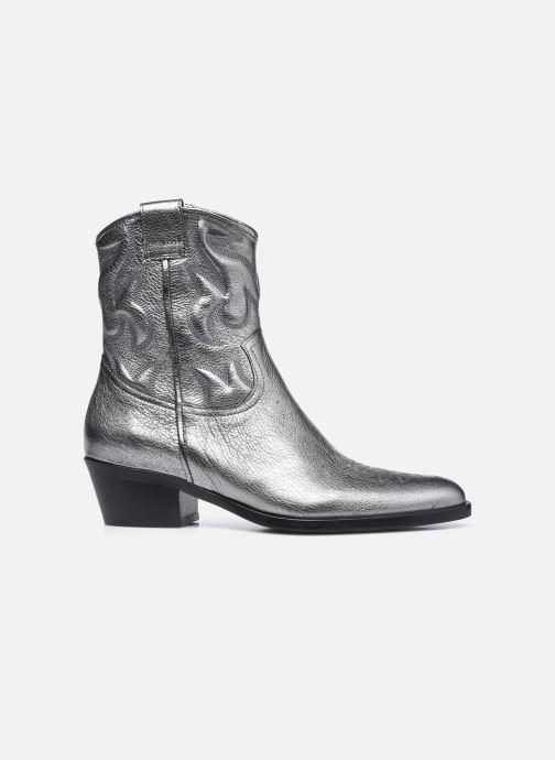 Stiefeletten & Boots Free Lance JANE 5 WESTERN ZIP BOOT silber ansicht von hinten