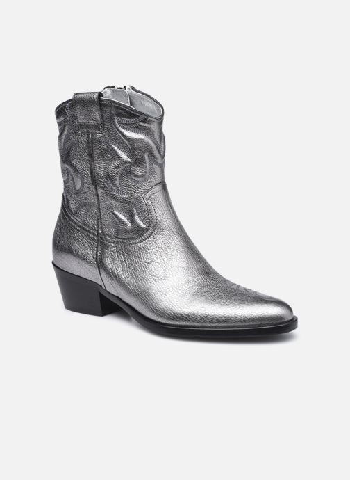 Stiefeletten & Boots Free Lance JANE 5 WESTERN ZIP BOOT silber detaillierte ansicht/modell