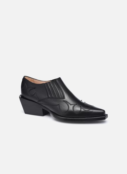 Stiefeletten & Boots Free Lance CALAMITY 4 LOW WEST BOOT schwarz detaillierte ansicht/modell