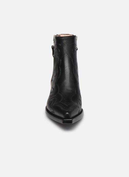 Stiefeletten & Boots Free Lance CALAMITY 4 DOUBLE ZIP schwarz schuhe getragen