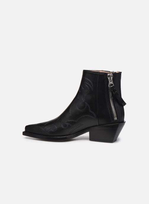 Stiefeletten & Boots Free Lance CALAMITY 4 DOUBLE ZIP schwarz ansicht von vorne