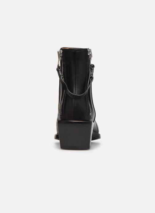 Stiefeletten & Boots Free Lance CALAMITY 4 DOUBLE ZIP schwarz ansicht von rechts