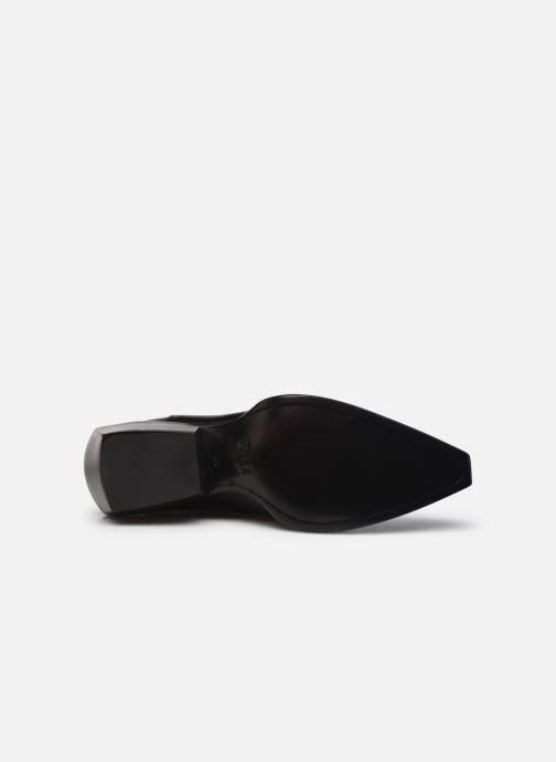 Stiefeletten & Boots Free Lance CALAMITY 4 DOUBLE ZIP schwarz ansicht von oben