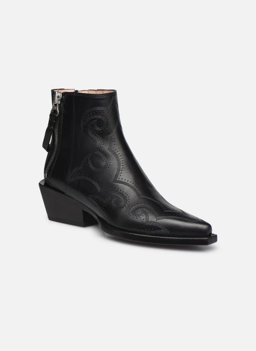 Stiefeletten & Boots Free Lance CALAMITY 4 DOUBLE ZIP schwarz detaillierte ansicht/modell