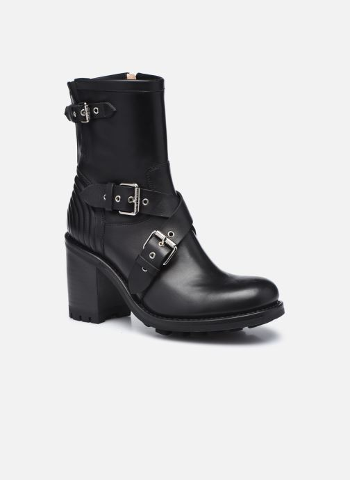 Bottines et boots Free Lance JUSTY 9 CROSS BUCKLE Noir vue détail/paire