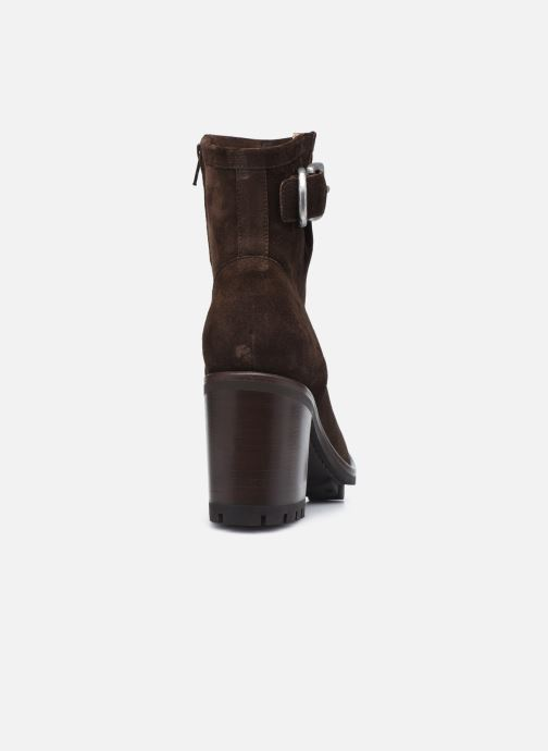 Bottines et boots Free Lance JUSTY 9 SMALL GERO Marron vue droite