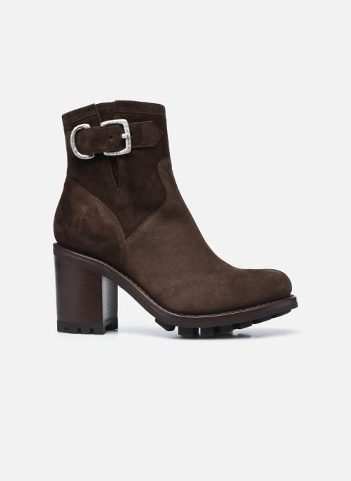 Bottines et boots Free Lance JUSTY 9 SMALL GERO Marron vue derrière