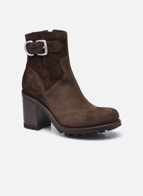 Bottines et boots Free Lance JUSTY 9 SMALL GERO Marron vue détail/paire