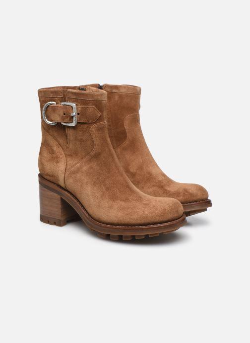 Stiefeletten & Boots Free Lance JUSTY 7 SMALL GERO braun 3 von 4 ansichten