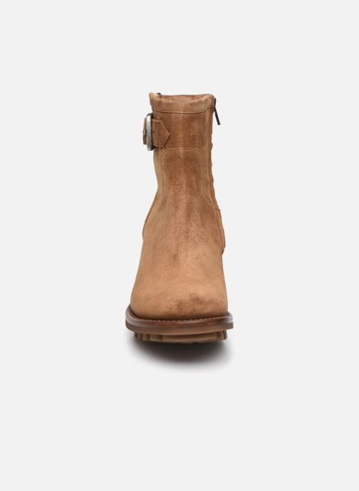 Stiefeletten & Boots Free Lance JUSTY 7 SMALL GERO braun schuhe getragen