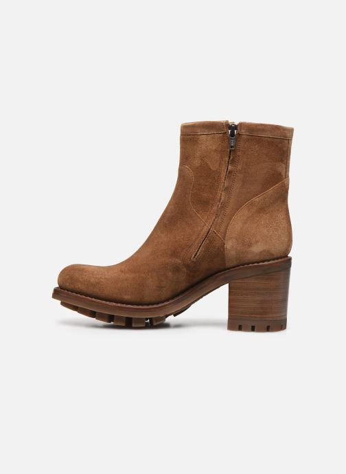 Stiefeletten & Boots Free Lance JUSTY 7 SMALL GERO braun ansicht von vorne