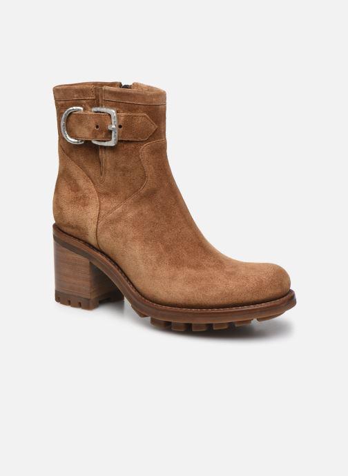 Stiefeletten & Boots Free Lance JUSTY 7 SMALL GERO braun detaillierte ansicht/modell