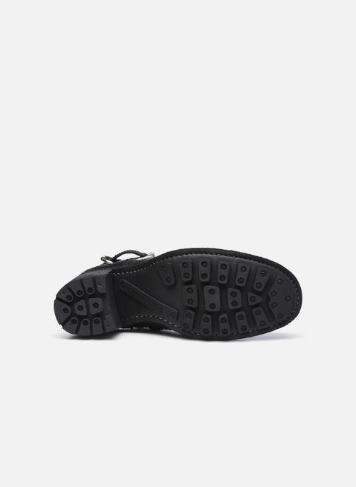 Stiefeletten & Boots Free Lance JUSTY 7 SMALL GERO schwarz ansicht von oben