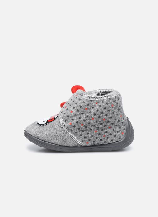 Chaussons Hello Kitty Hk Angine Gris vue face